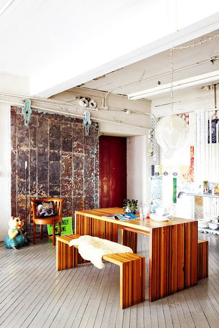 VM designblogg: Εκλεκτική Κατοικία στο Brooklyn
