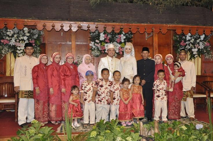 The groom family