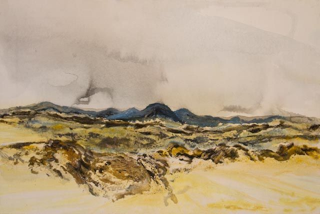 """""""Namibian Landscape 02"""" by Melanie Meyer from her Emergence Art Gallery in Cape Town"""