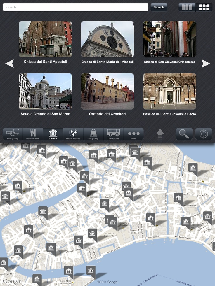 How many points of interest in Venice! Try us on App Store!