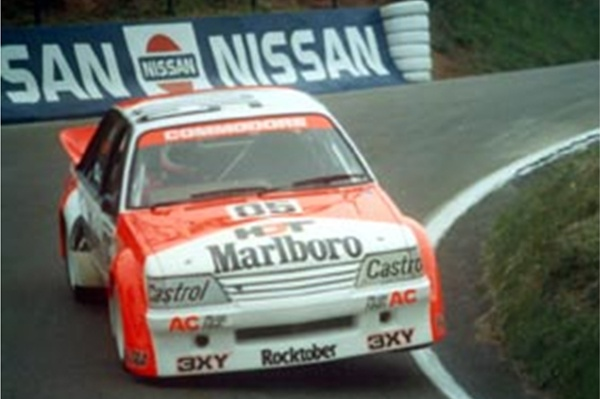 The greatest Australian touring car driven by the legend- Peter Brock. Marlboro-Holden Dealer Team Commodore- 1-2 at Bathurst in 1984