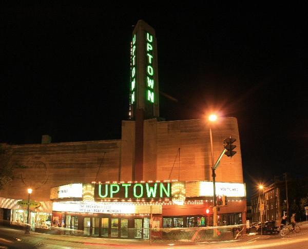 The Uptown Theater in Minneapolis. Landmark of the Twin Cities.