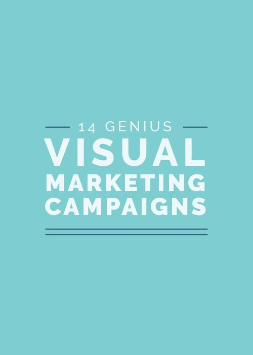 Yesterday I shared 14 marketing campaigns to get your ideas flowing! Which one did you like?