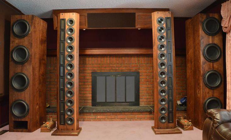 vos loudspeakers precision sound array hi fi audio and video pinterest. Black Bedroom Furniture Sets. Home Design Ideas