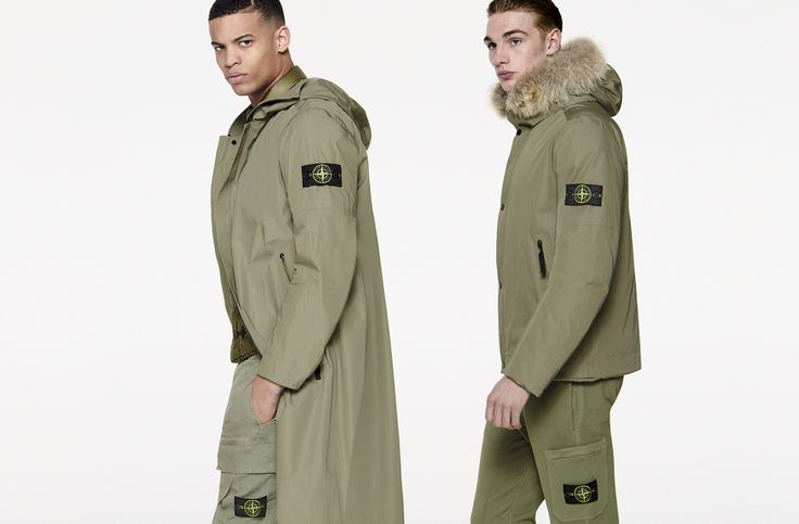 6515 Stone Island_ AW '016 '017 _ Water Repellent Supima Cotton stoneisland.com