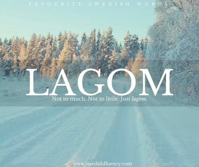 Lagom - Do you have a translation for this word in your first language?