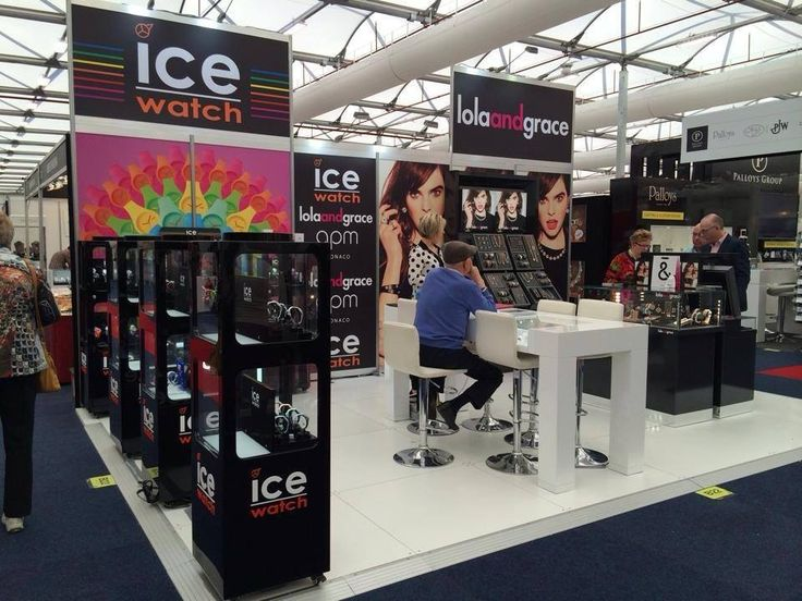 Ice Watch expo material at the JAA International Jewellery Fair 2014.  #mercurycreative #expo #printmaterial #wideformat #tradeshow #tradeshowstand #expostand