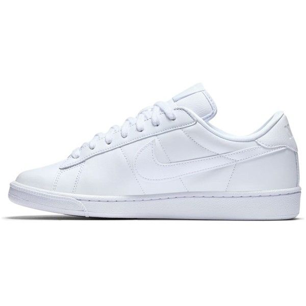 Women's Tennis Classic White Sneaker ($105) ❤ liked on Polyvore featuring shoes, sneakers, grip shoes, tennis shoes, lightweight shoes, tennis trainer and grip trainer