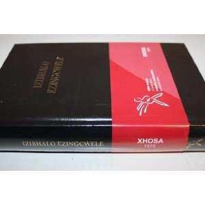 IZIBHALO EZINGCWELE / Bible In Xhosa Language / Black Hard Cover   $79.99