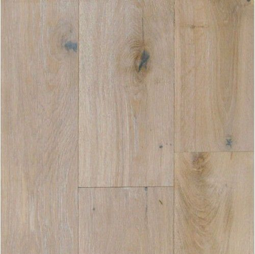 Wide Plank Engineered Wire Brushed Provence White Oak Wood Floors. LOVE this floor.