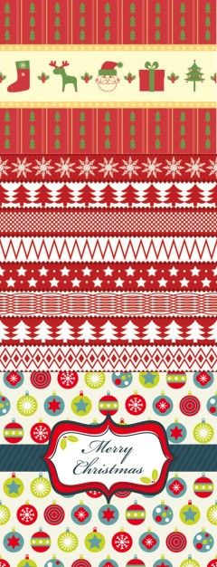 Christmas two party continuous background vector