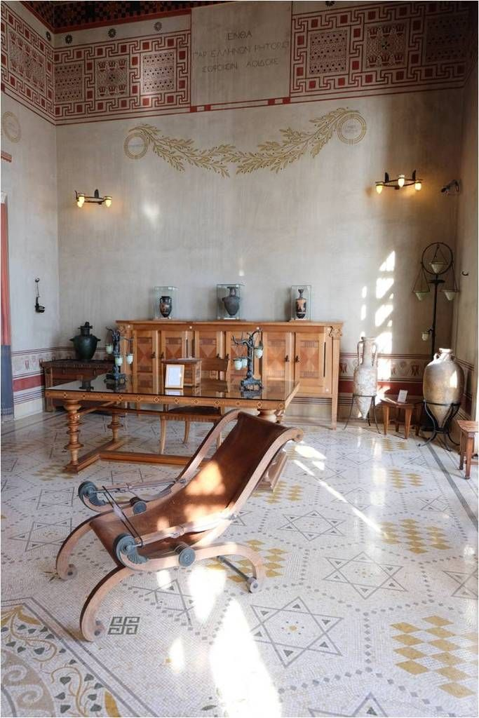 Передал посетить греческий Villa Kerylos: