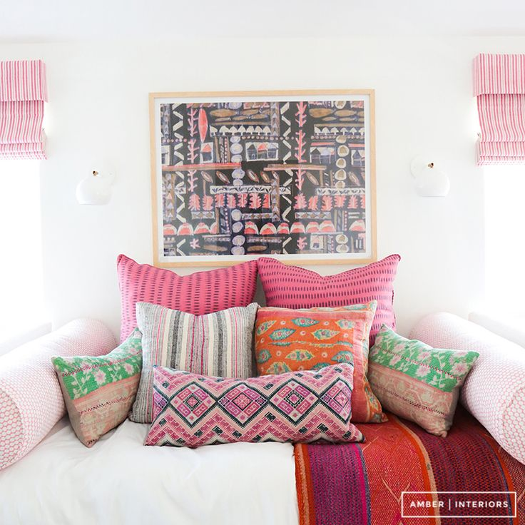 Amber Interiors - Tessa Neustadt - Client Sandy Castles Before and After - Girl's Rooms - 7