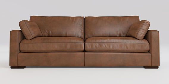 Buy Idaho Large Sofa (3 Seats) Antique Leather Whisky Standard from the Next UK online shop