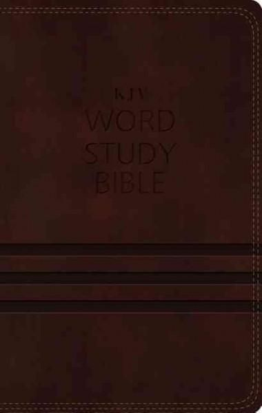 Word Study Bible: King James Version,, Red Letter Edition: 1,700 Key Words That Unlock the Meaning of the B...