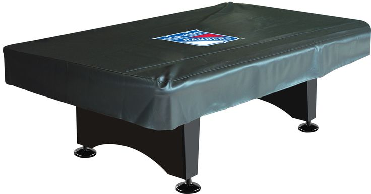 New York Rangers 8ft Pool Table Cover