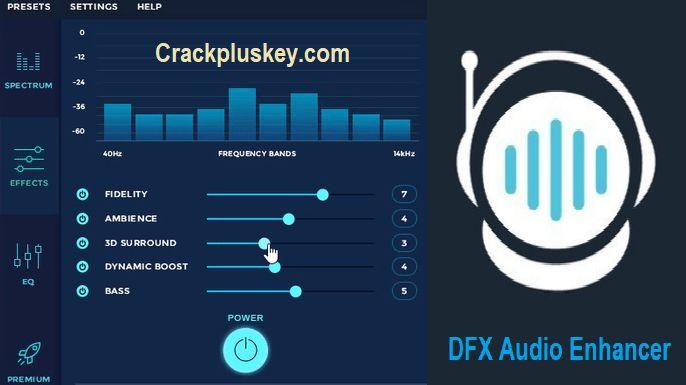 DFX Audio Enhancer Pro 12.023 Cracked + Serial Number Incl ...