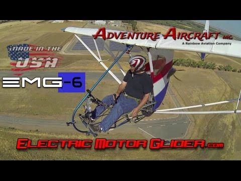 EMG Electric Aircraft – EMG 6 electric ultralight motorglider. - YouTube