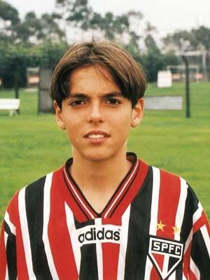 young Kaka on Sao Paulo FC ~