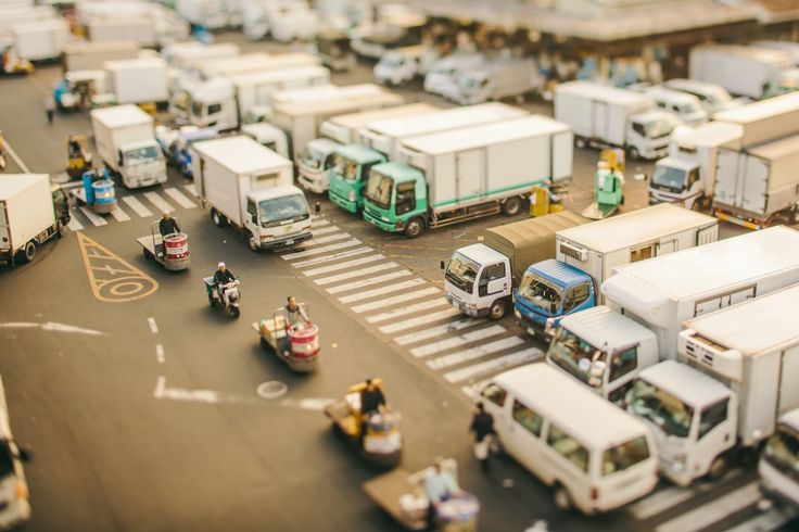 Modes of transport at Tsukiji Market, Chuo | «Sur le plan logistique, j'avais besoin de saisir le bon type d'accès po...