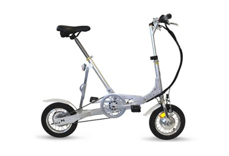 Velomini 1 Speed- VeloMini is the perfect multi-mode transportation vehicle. VeloMini can be used in conjunction with a bus, train, subway, boat, plane or RV, or ride it just for fun. New MSRP $895.