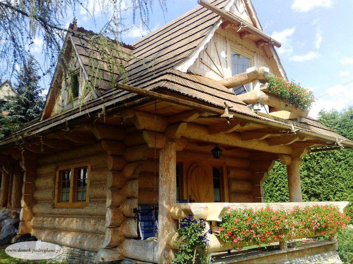 4 maja 2011 - wiosna w Zakopanem, domek góralski