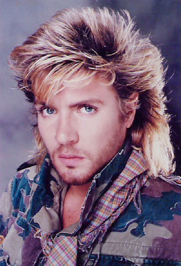 Duran Duran's Simon Le Bon The hair! The hair!