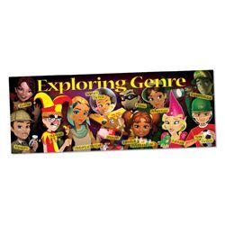 Exploring Genre Wall Graphic