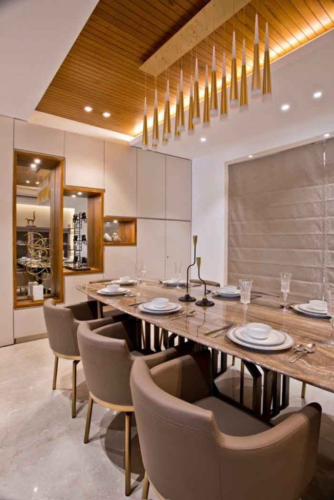 A Contemporary Home For A Well Traveled Couple Dress Your Home Stylish Dining Room Dining Interior Contemporary Dining Room Design