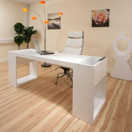 Modern Designer Desk Work Station White Gloss Office Deep in Home  Furniture    DIY  Furniture  Desks   Computer Furniture. 16 best Study images on Pinterest   High gloss  Office furniture