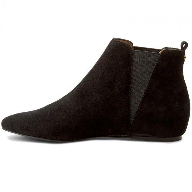 Kotníková obuv s elastickým prvkem CALVIN KLEIN BLACK LABEL - Magica E2871 Black