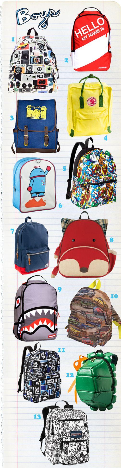 Super Goody Bag Top Boys Backpacks