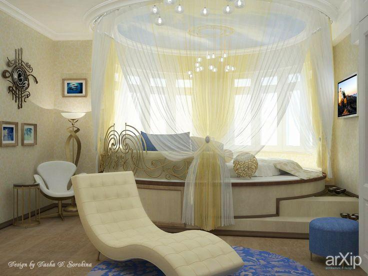 Солнечное побережье: интерьер, квартира, дом, спальня, современный, модернизм, 20 - 30 м2 #interiordesign #apartment #house #bedroom #dormitory #bedchamber #dorm #roost #modern #20_30m2 arXip.com