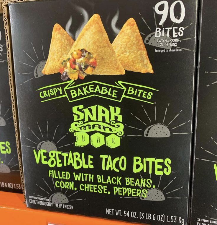 Costco is selling veggie bites that are basically the taco