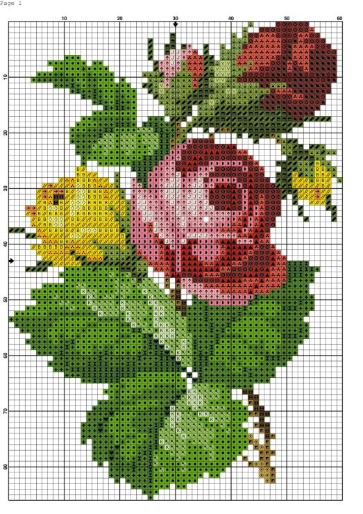 Gallery.ru / Фото #4 - aaa - kento / żółta i czerwona róża z pączkami 1/3