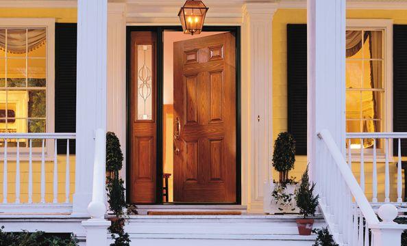 Fiberglass Steel Entry Doors Entry Way