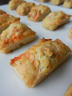 Financiers apéro au saumon - C secrets gourmands !! Plus de recettes d'apéritifs sur : www.enviedebienmanger.fr