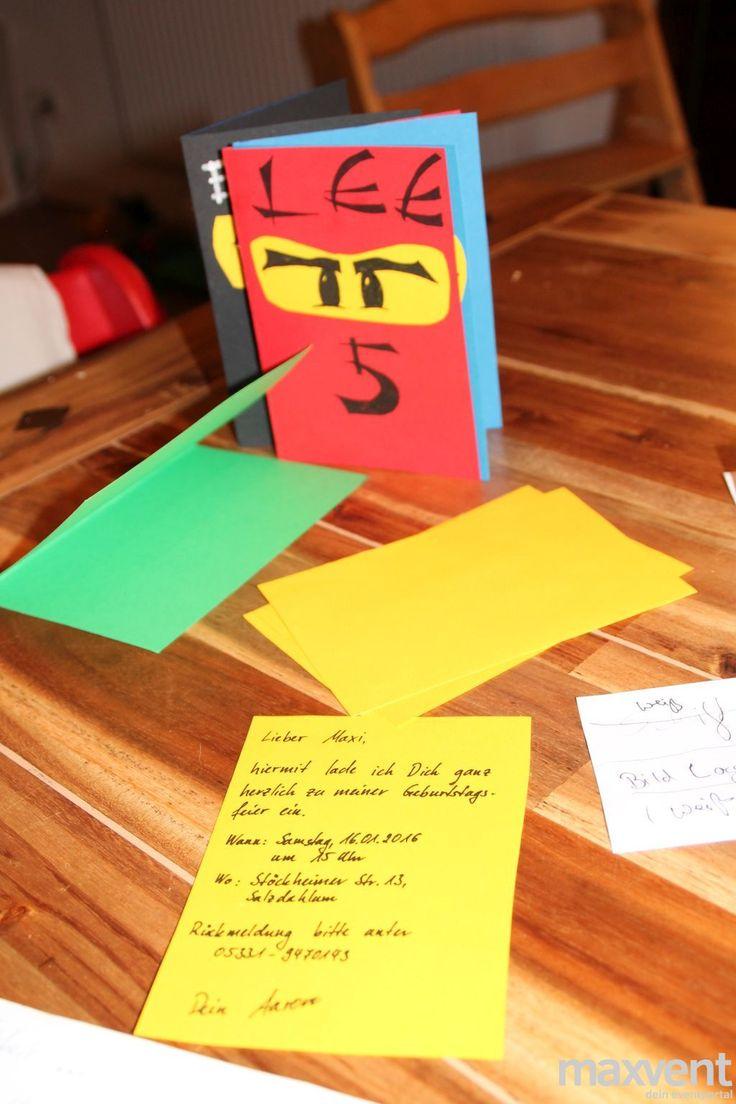 8 besten Kindergeburtstag Ninjago Bilder auf Pinterest