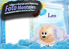 Fotomontajes de Zodiaco Leo