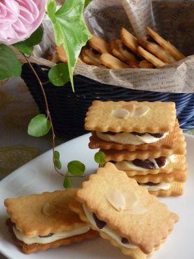 「サクっと美味しいレーズンバターサンド」シフォン | お菓子・パンのレシピや作り方【corecle*コレクル】