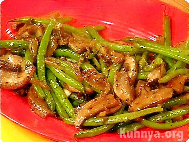 Стручковая фасоль блюда салаты