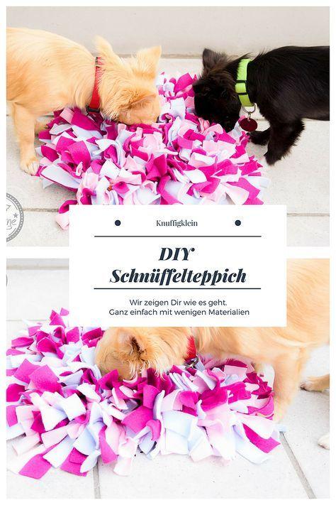 DIY Schnüffelteppich Wie ihr diesen ganz einfach selber machen könnt, lest ihr hier. Mit vielen Bildern und einer leichten Anleitung.