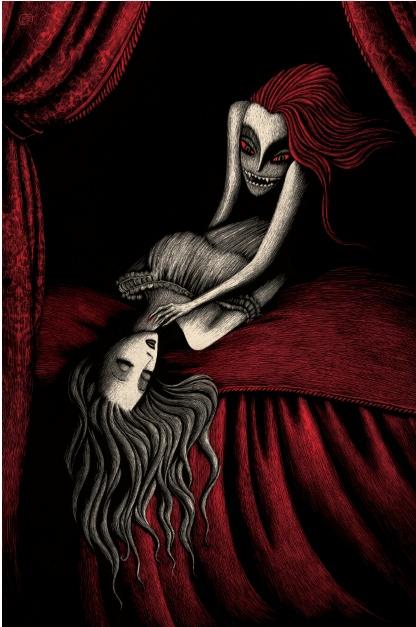 Vampiros by meritxell ribas
