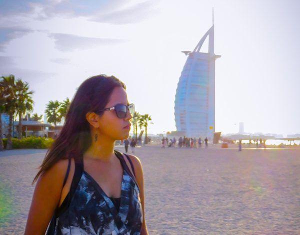 El Burj Al Arab Desde La Playa Pública Jumeirah Beach Foto Mundukos Dubai Playa De Dubai Dubai Fotos