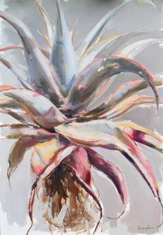 Aloe Painting - 1200mm x 800mm - Inside Out Home Boutique