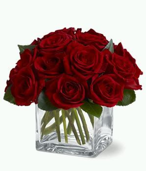 red roses centerpieces for weddings