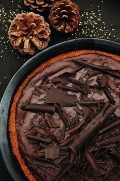 Gemakkelijk te maken en super lekker! -->Chocolademousse op speculaas - Pascale Naessens