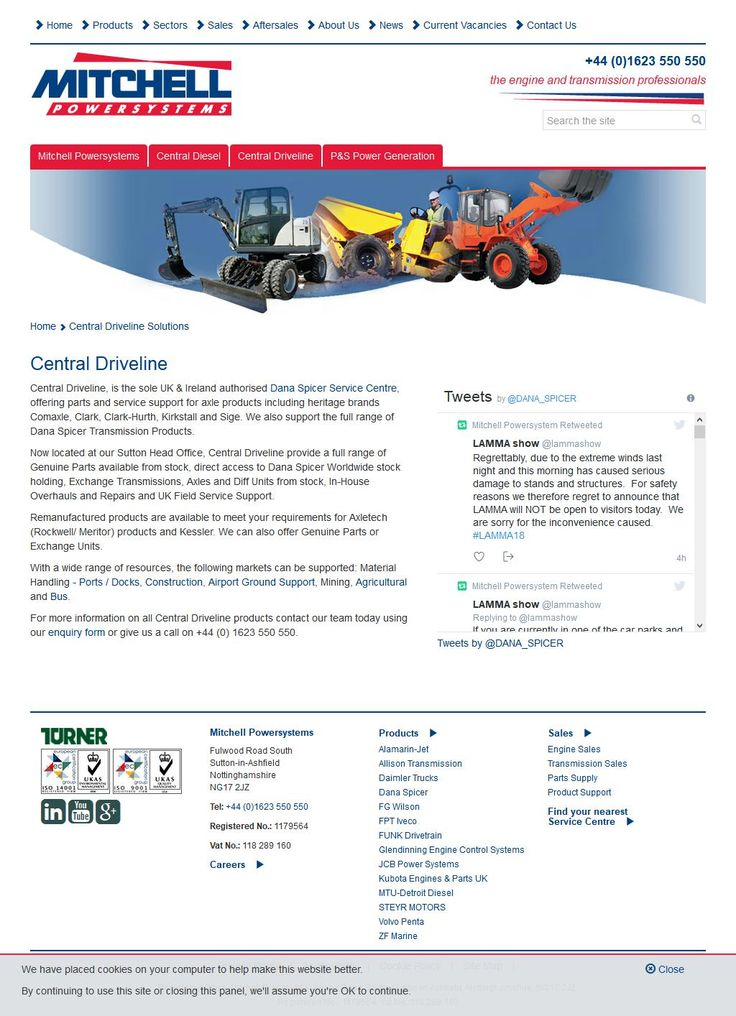 Central Driveline Services Engineering Services Hockley Way   Alfreton Derbyshire DE55 7FA | To get more infomration about Central Driveline Services, Location Map, Phone numbers, Email, Website please visit http://www.HaiUK.co.uk