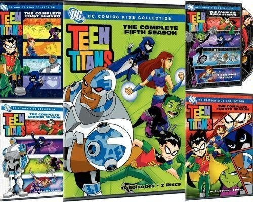 Teen Titans: The Complete Seasons 1-5 DVD ~ Teen Titans, http://www.amazon.com/dp/B001RXB4K4/ref=cm_sw_r_pi_dp_RQ.Srb05DH9XT