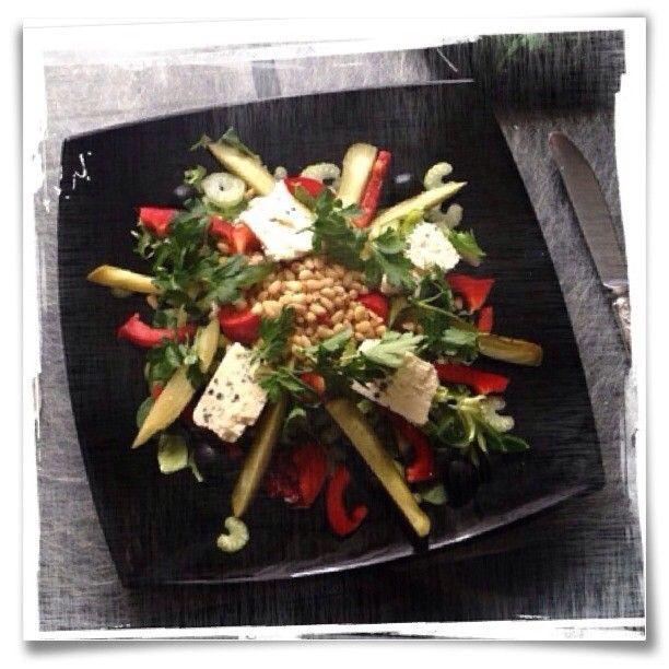 Salad for Saturday brunch